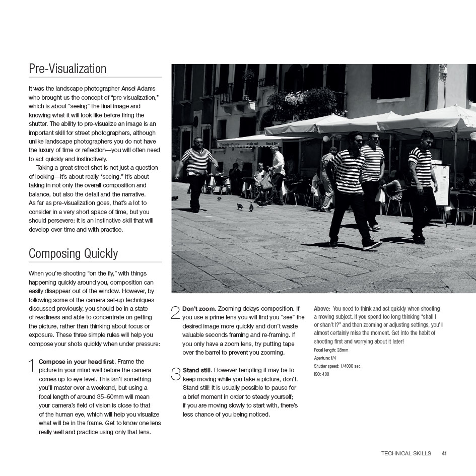 Mastering Street Photography - the street photography book